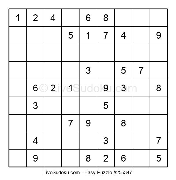 Beginners Puzzle #255347