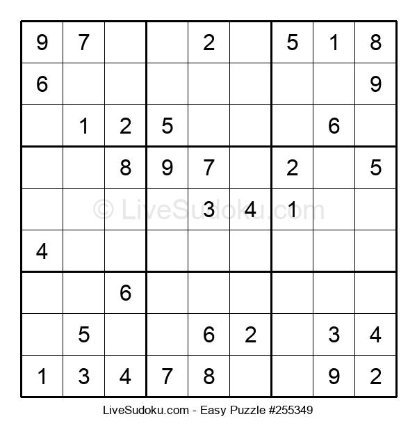 Beginners Puzzle #255349
