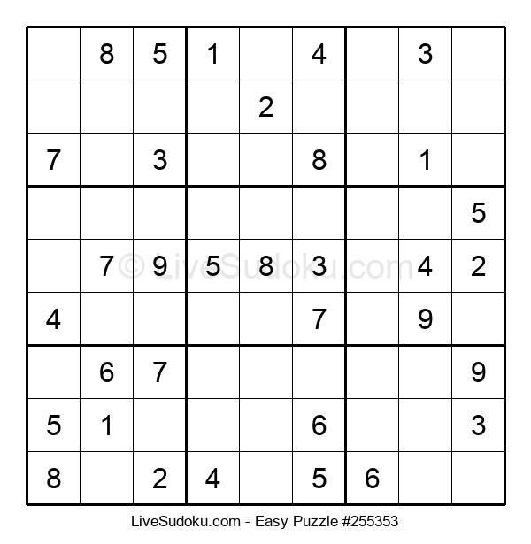 Beginners Puzzle #255353