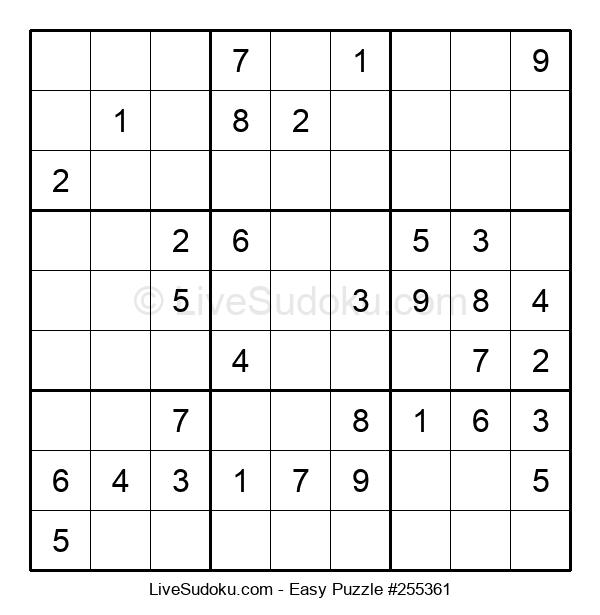 Beginners Puzzle #255361