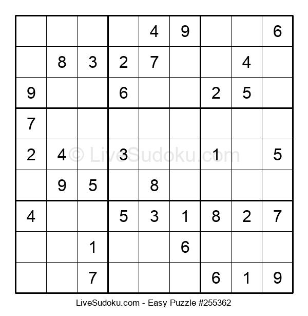 Beginners Puzzle #255362