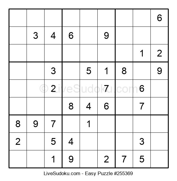Beginners Puzzle #255369