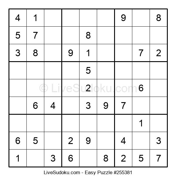 Beginners Puzzle #255381
