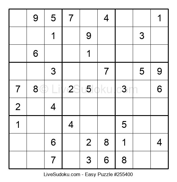 Beginners Puzzle #255400
