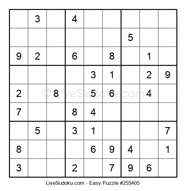 Beginners Puzzle #255405