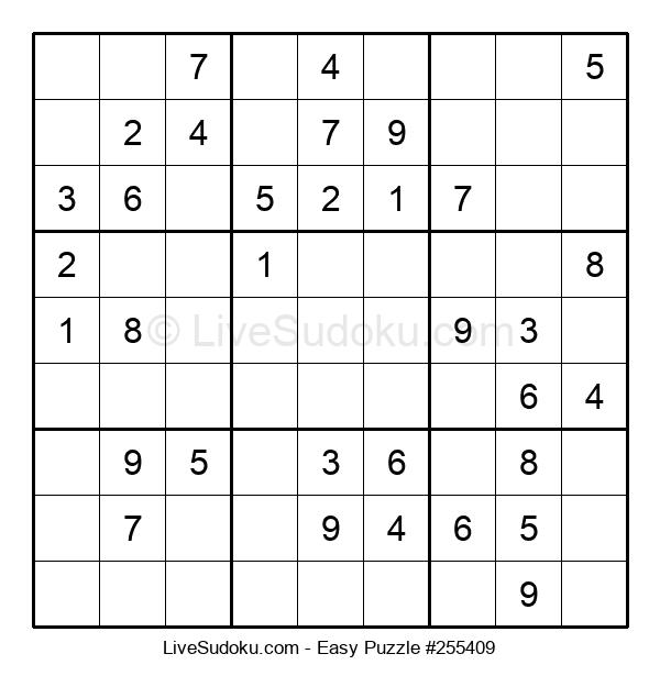 Beginners Puzzle #255409