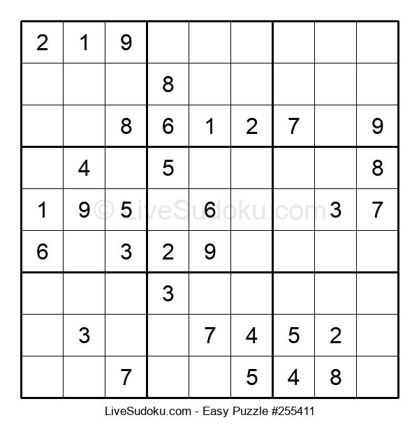 Beginners Puzzle #255411