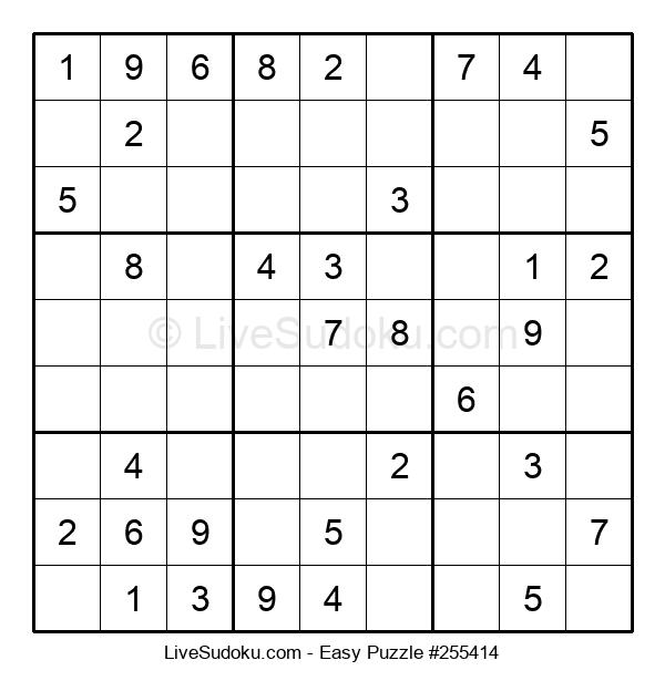 Beginners Puzzle #255414