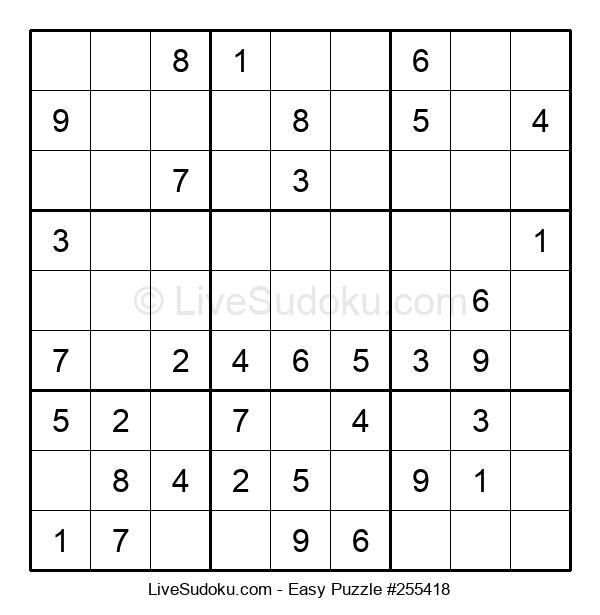 Beginners Puzzle #255418
