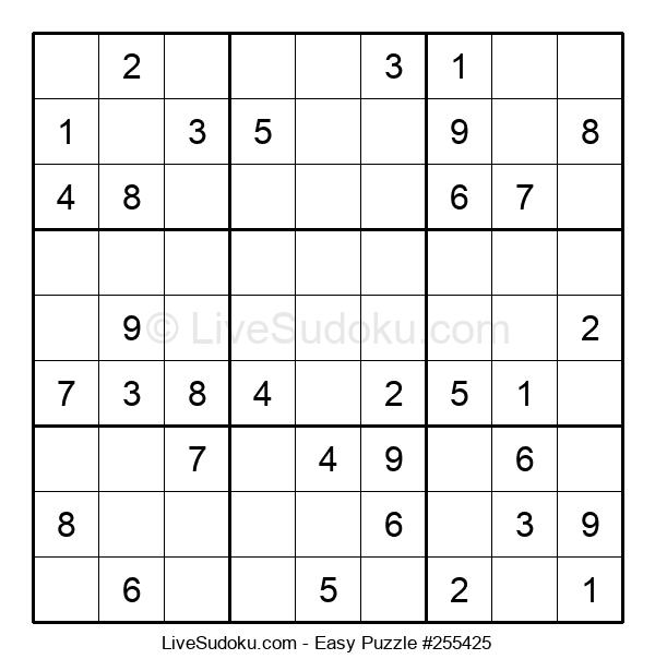 Beginners Puzzle #255425