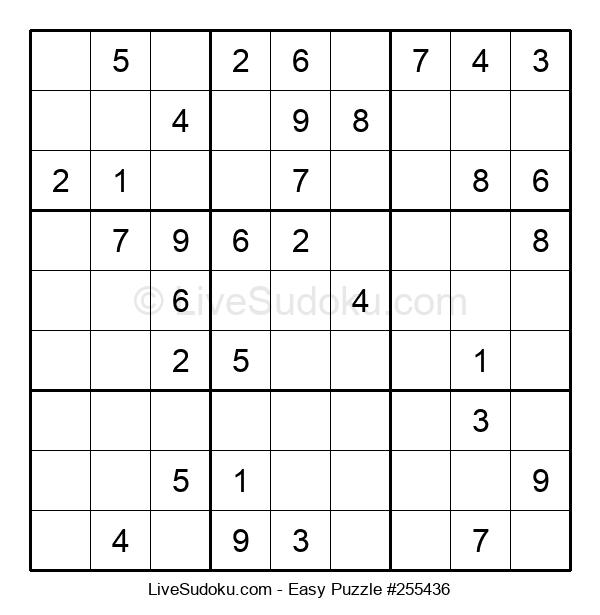 Beginners Puzzle #255436