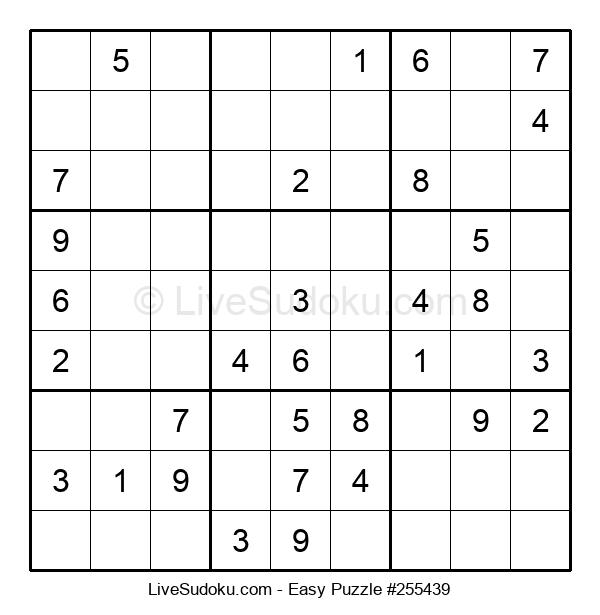 Beginners Puzzle #255439