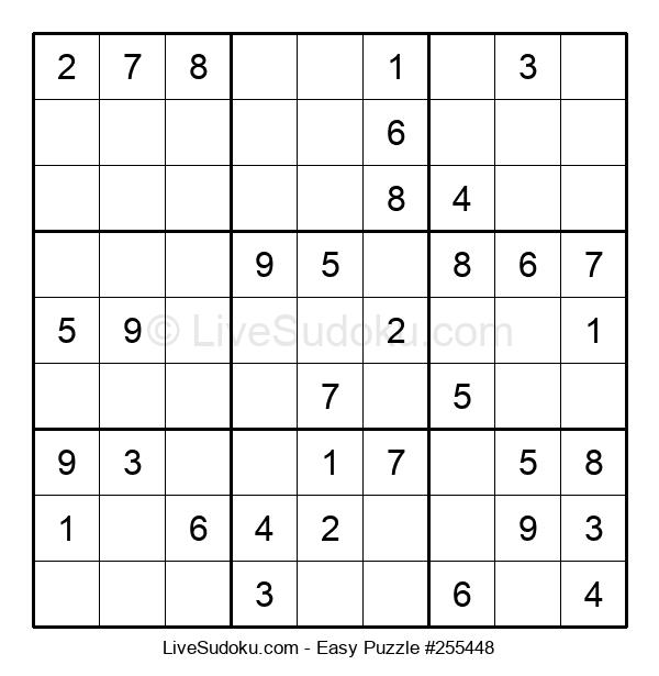 Beginners Puzzle #255448
