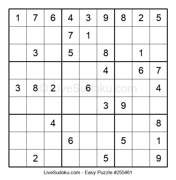 Beginners Puzzle #255461