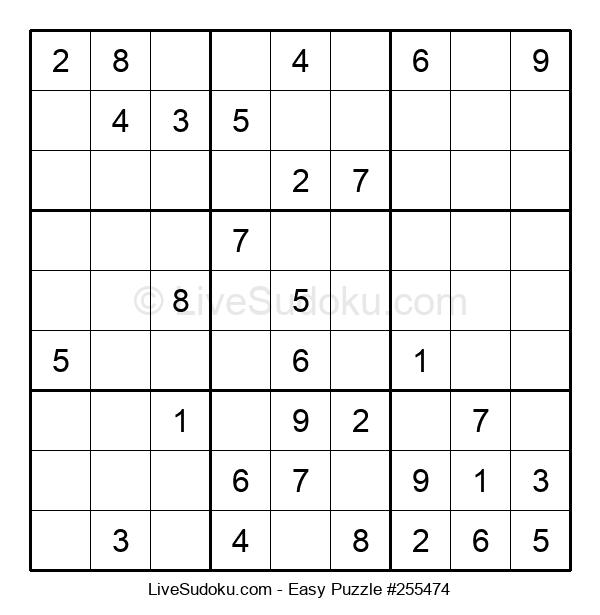 Beginners Puzzle #255474