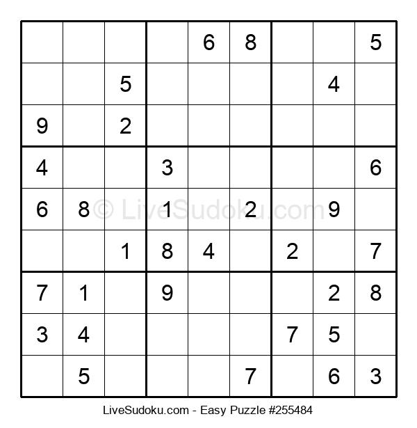 Beginners Puzzle #255484