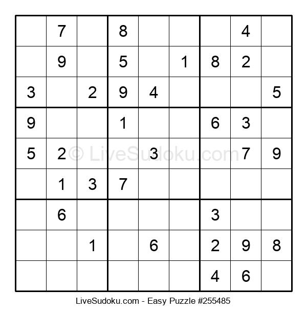 Beginners Puzzle #255485