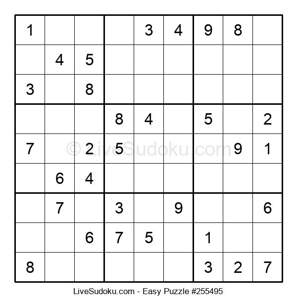 Beginners Puzzle #255495