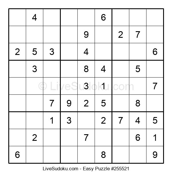 Beginners Puzzle #255521