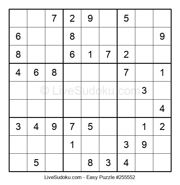 Beginners Puzzle #255552