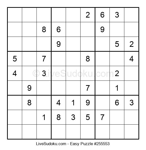Beginners Puzzle #255553