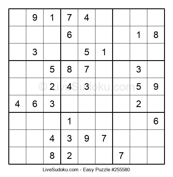 Beginners Puzzle #255580