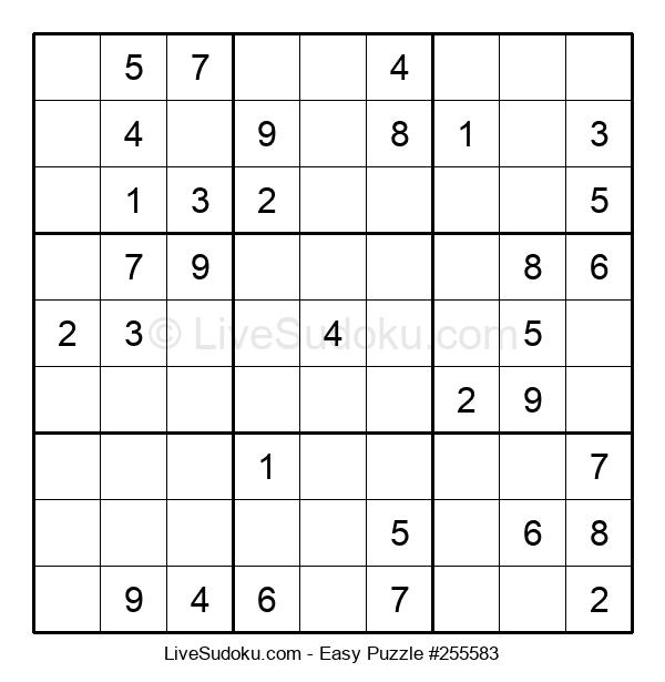 Beginners Puzzle #255583