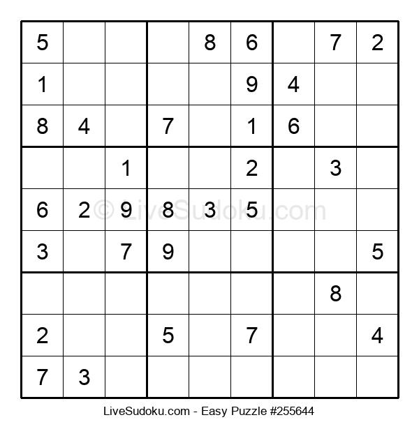 Beginners Puzzle #255644