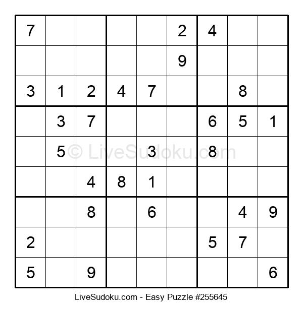 Beginners Puzzle #255645