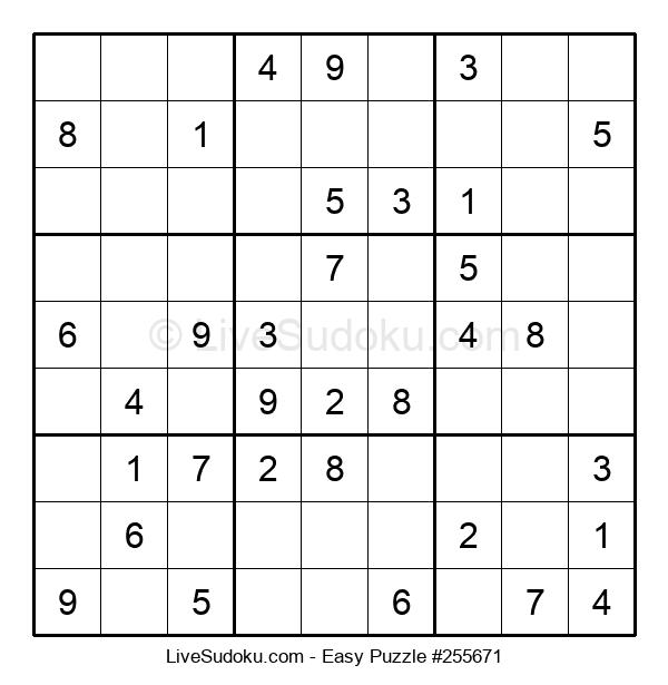 Beginners Puzzle #255671