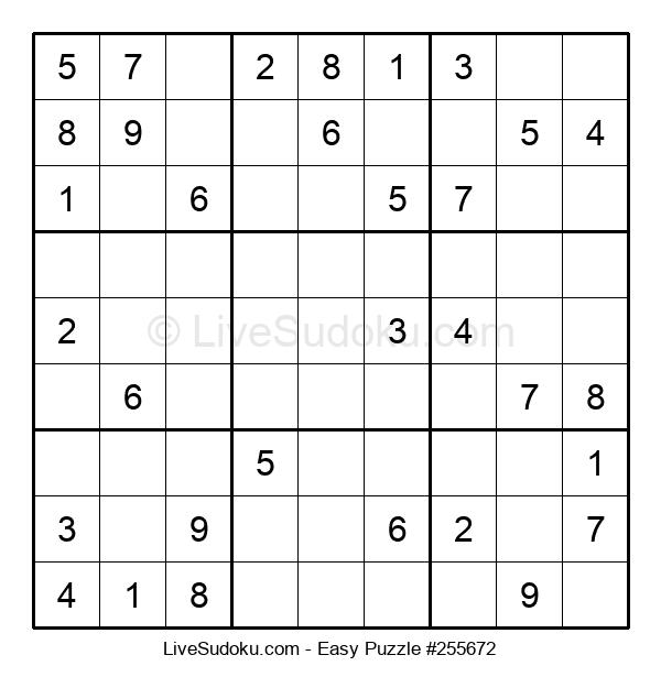 Beginners Puzzle #255672