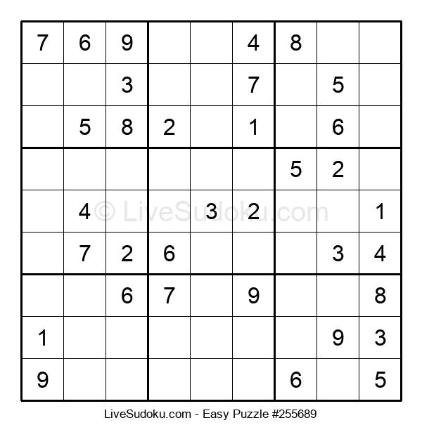 Beginners Puzzle #255689