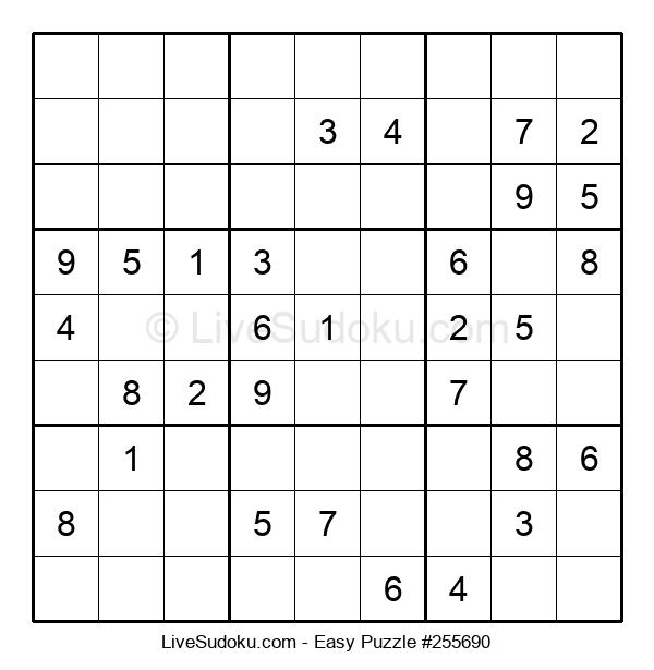 Beginners Puzzle #255690