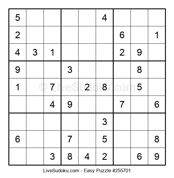 Beginners Puzzle #255701