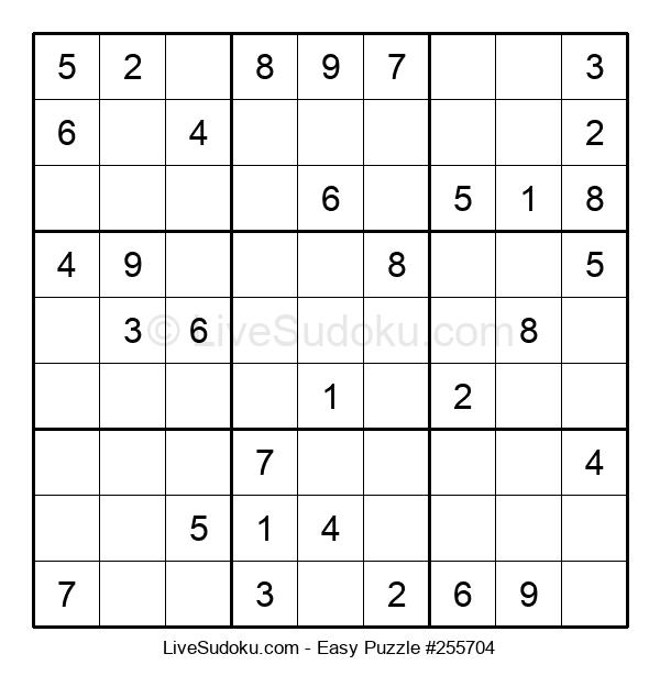 Beginners Puzzle #255704