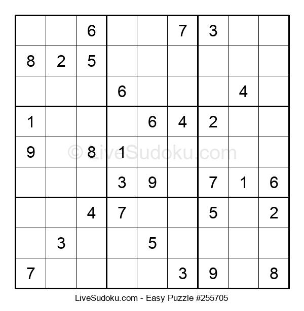 Beginners Puzzle #255705
