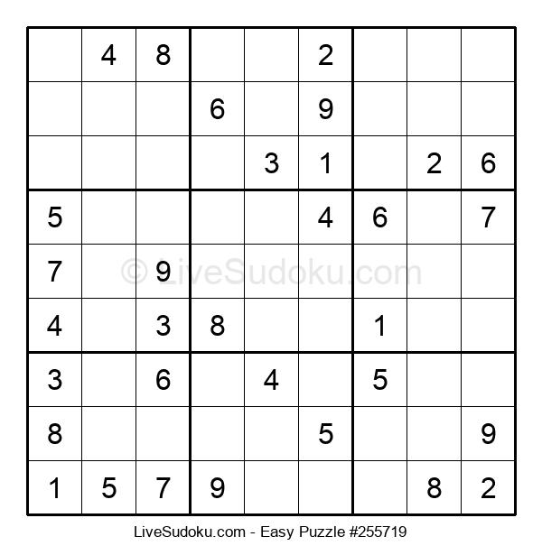Beginners Puzzle #255719