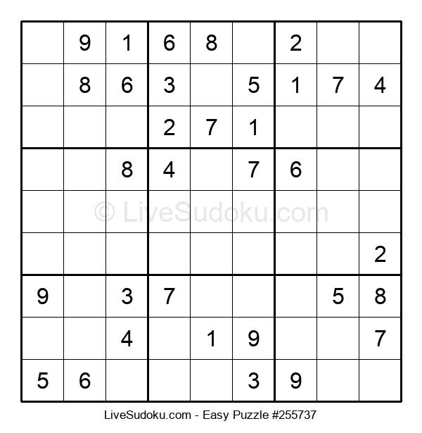 Beginners Puzzle #255737