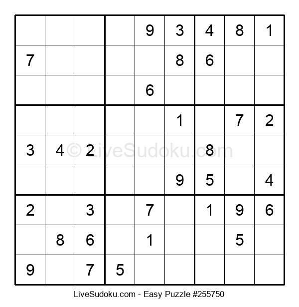 Beginners Puzzle #255750
