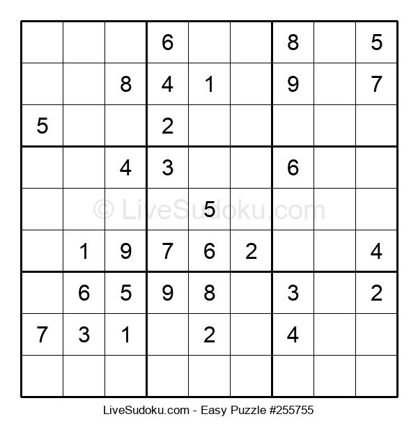Beginners Puzzle #255755