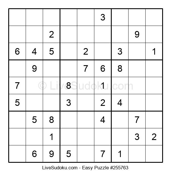 Beginners Puzzle #255763