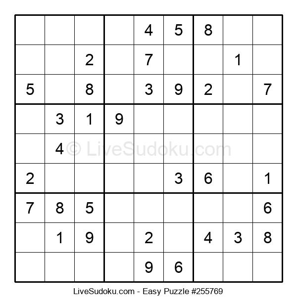 Beginners Puzzle #255769