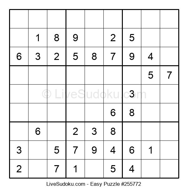 Beginners Puzzle #255772