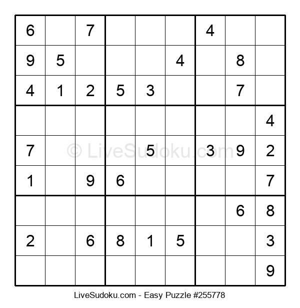 Beginners Puzzle #255778