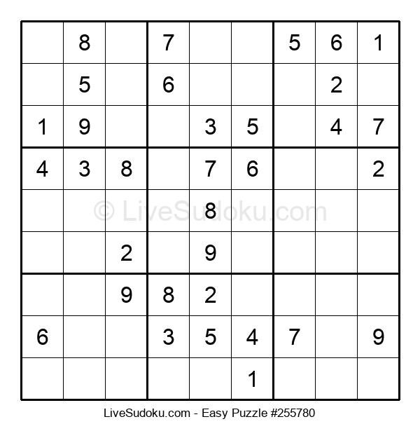 Beginners Puzzle #255780