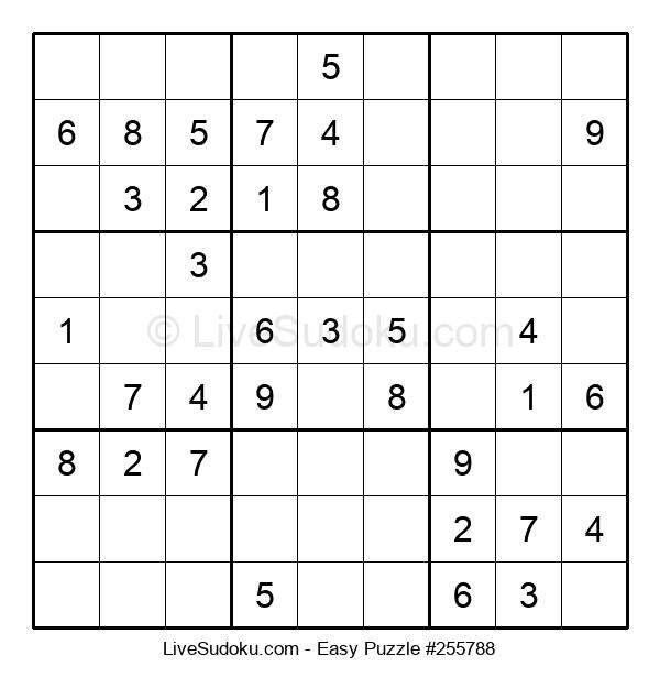 Beginners Puzzle #255788