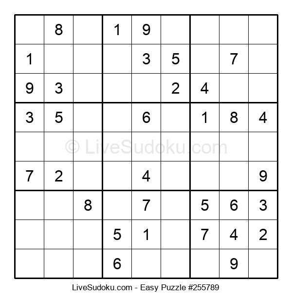 Beginners Puzzle #255789