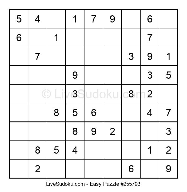 Beginners Puzzle #255793