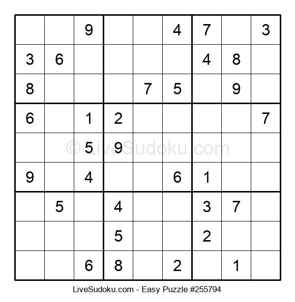 Beginners Puzzle #255794