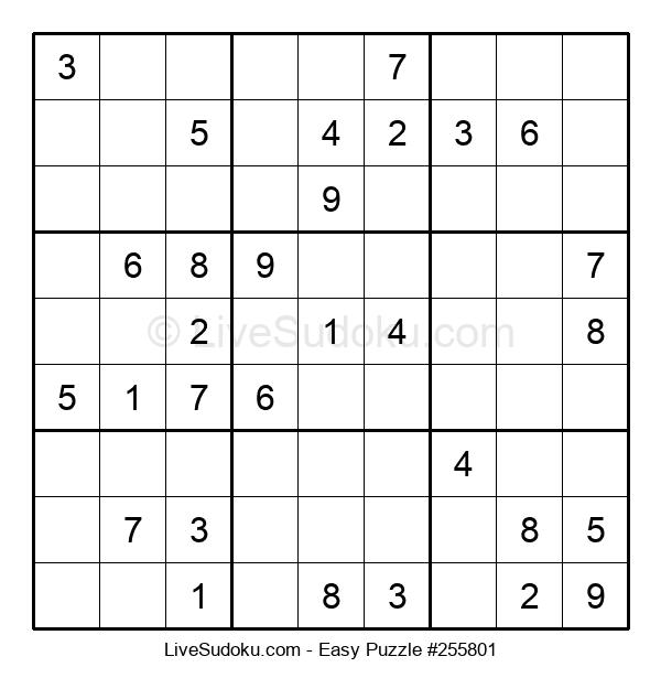 Beginners Puzzle #255801